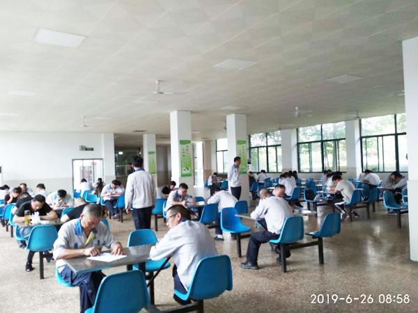 圣诺贝工厂开展安全知识竞赛活动